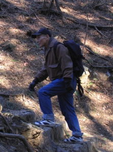 sensei hiking